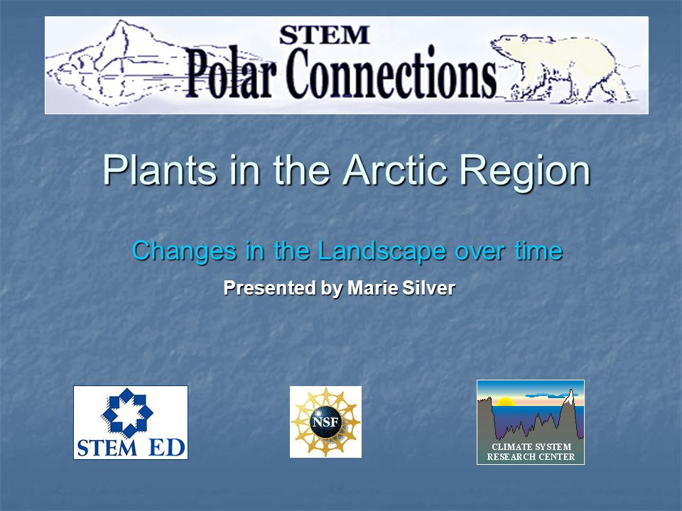 Plants in the Arctic Region