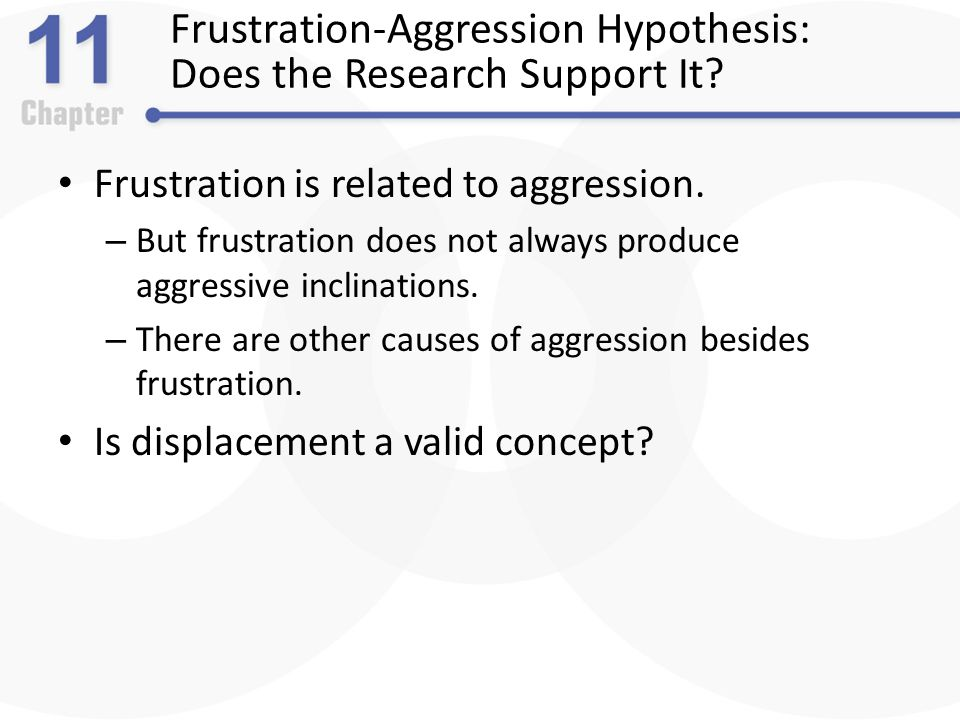 Frustration & Agression