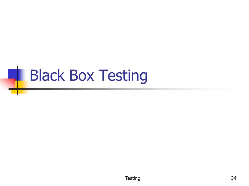 test case prioritization for black box Regression testing (rarely non  test case prioritization techniques schedule test cases so that the test cases that are  which tends to use black box components.