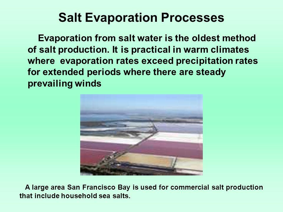 Salt Evaporation Processes