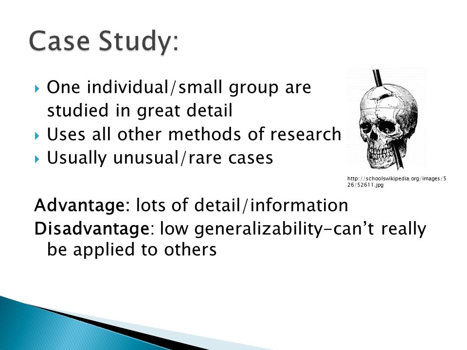 case study research method advantages and disadvantages Research methods in psychology: examine the advantages and disadvantages of case studies to unlock this lesson you must be a studycom member.