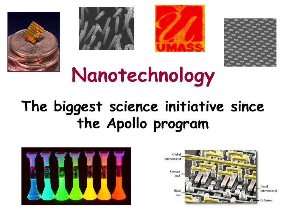 The biggest science initiative since the Apollo program