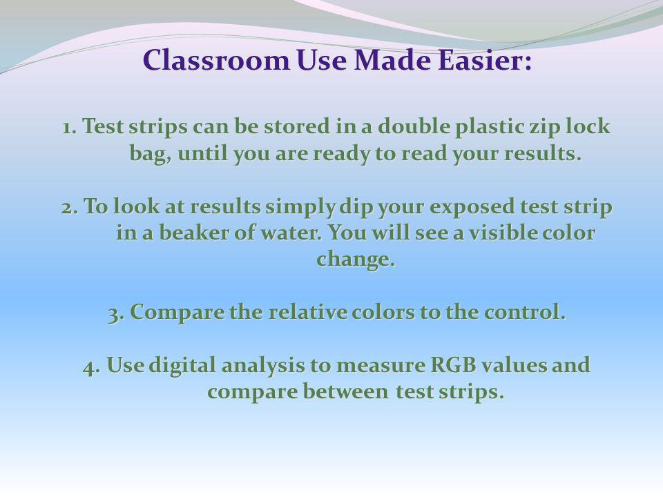 Classroom Use Made Easier: