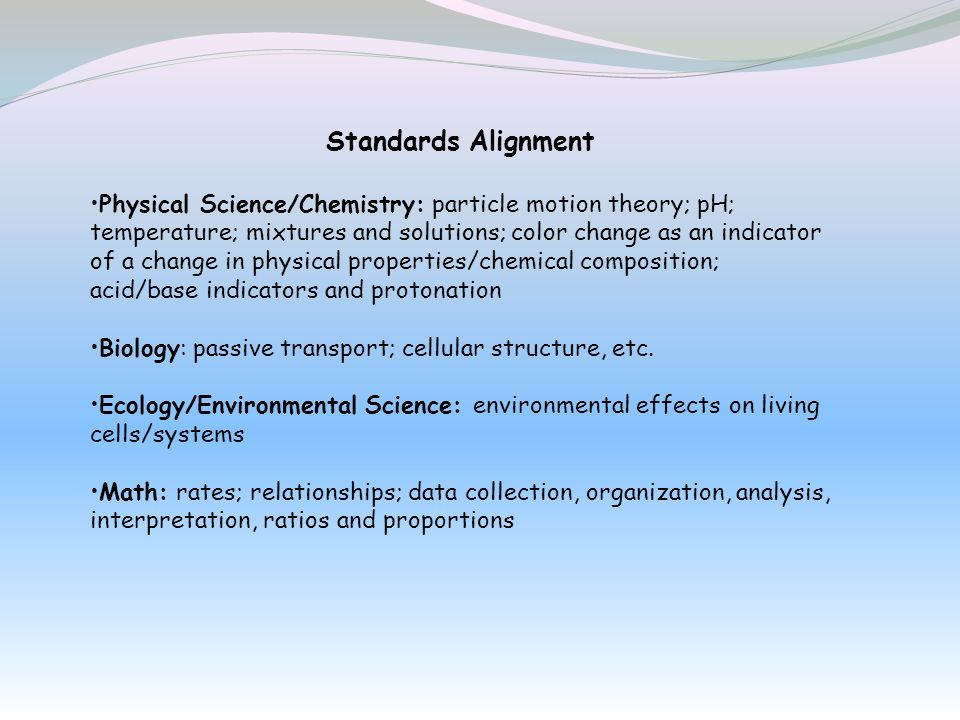 Standards Alignment
