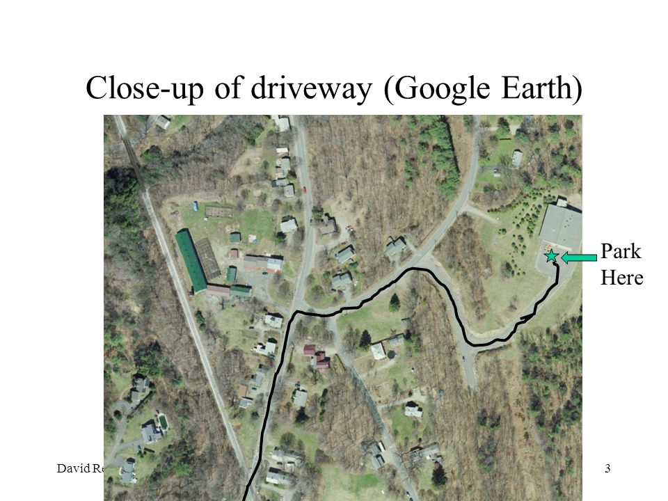 Close-up of driveway (Google Earth)