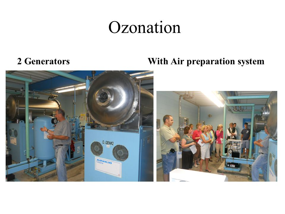 Ozonation 2 Generators With Air preparation system