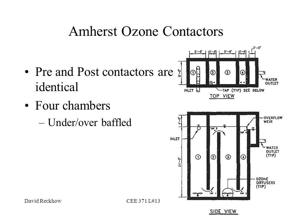 Amherst Ozone Contactors