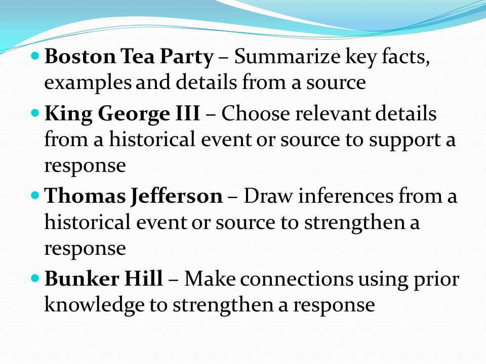 The two faces of the tea party essay