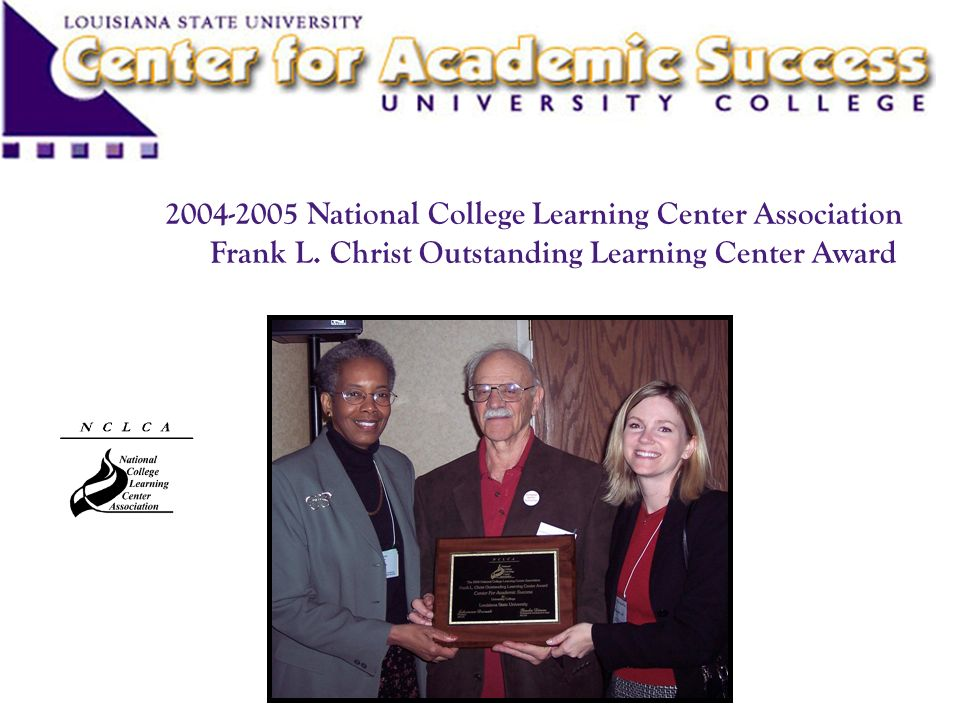 National College Learning Center Association Frank L