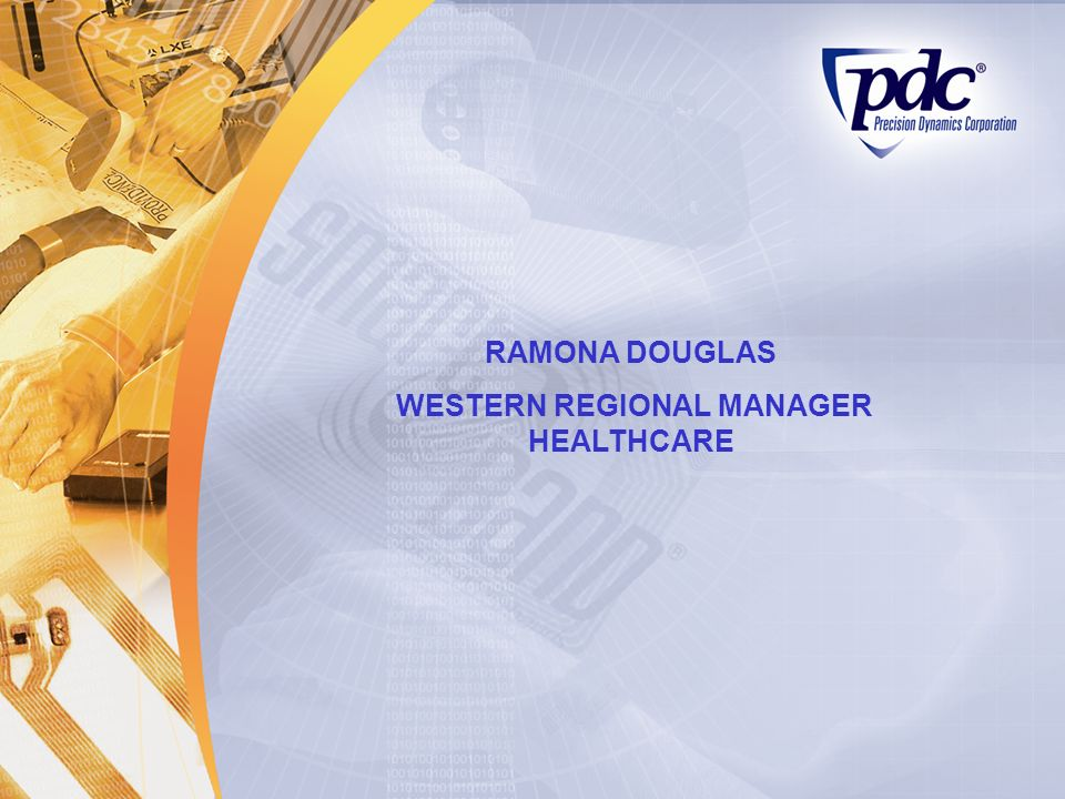 WESTERN REGIONAL MANAGER HEALTHCARE