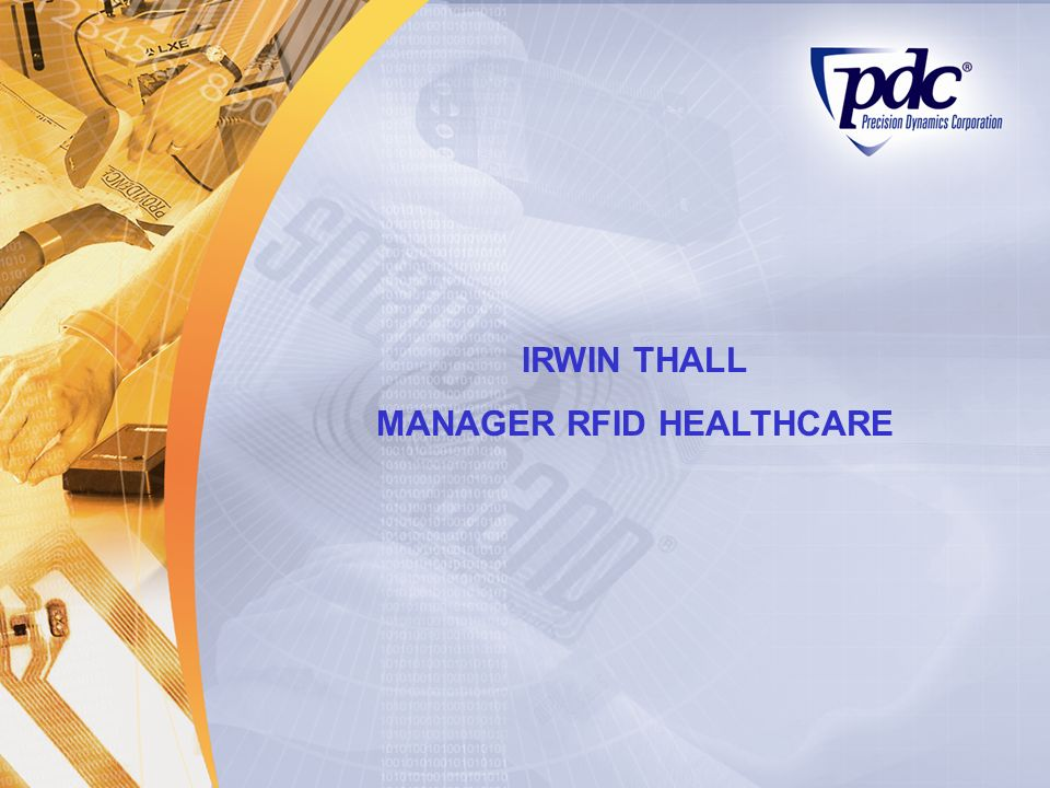 MANAGER RFID HEALTHCARE