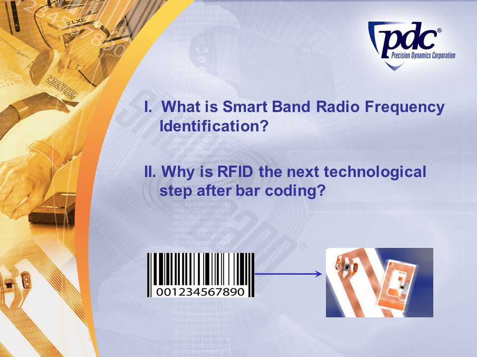 I. What is Smart Band Radio Frequency Identification