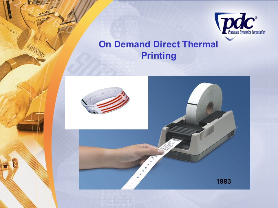 On Demand Direct Thermal Printing