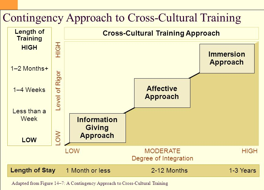 what is the rigor of cross cultural programs Research and practice in human resource the cct needs of the trainees and the rigor of the cct program programs for cross-cultural.