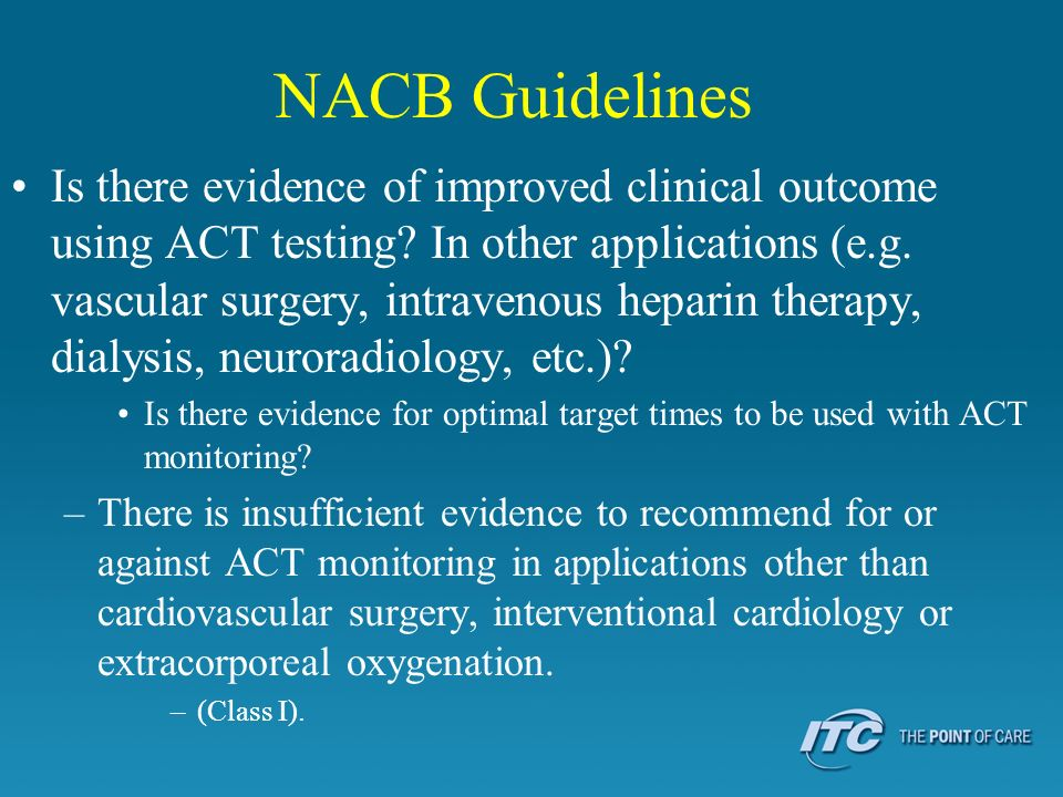 NACB Guidelines