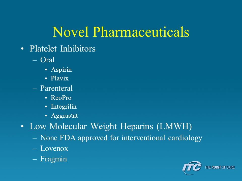 Novel Pharmaceuticals