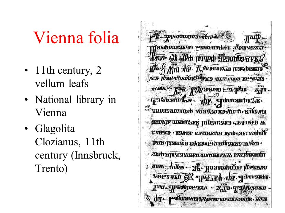 Vienna folia 11th century, 2 vellum leafs National library in Vienna