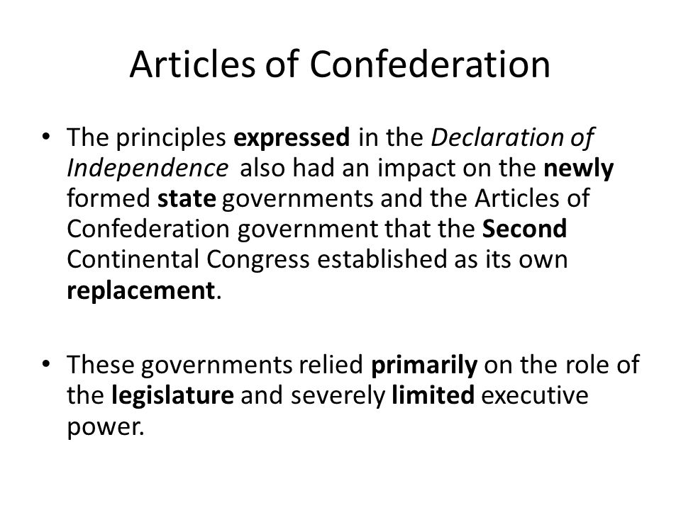 a description of the continental congress and its effects to the american government 1774 articles of association on october 20, 1774, the first continental congress adopted the articles of association in response to the intolerable acts the british government had imposed on its subjects in the colonies.