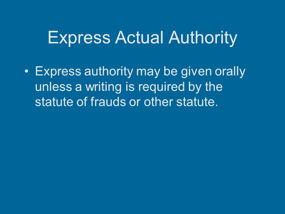 Apparent Authority Law and Legal Definition
