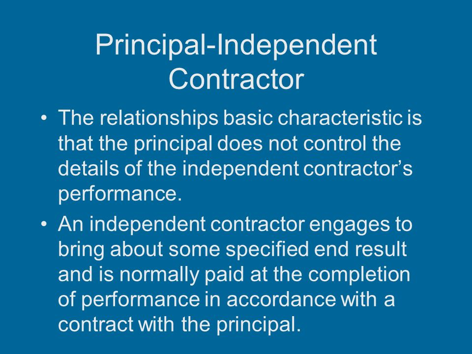 independent contractor and actual control Employee vs independent contractor – seven tips for business owners irs summertime tax tip 2010-20 as a small business owner you may hire financial control covers facts that show whether the business has a right to direct or control the financial and business aspects of the worker's job.