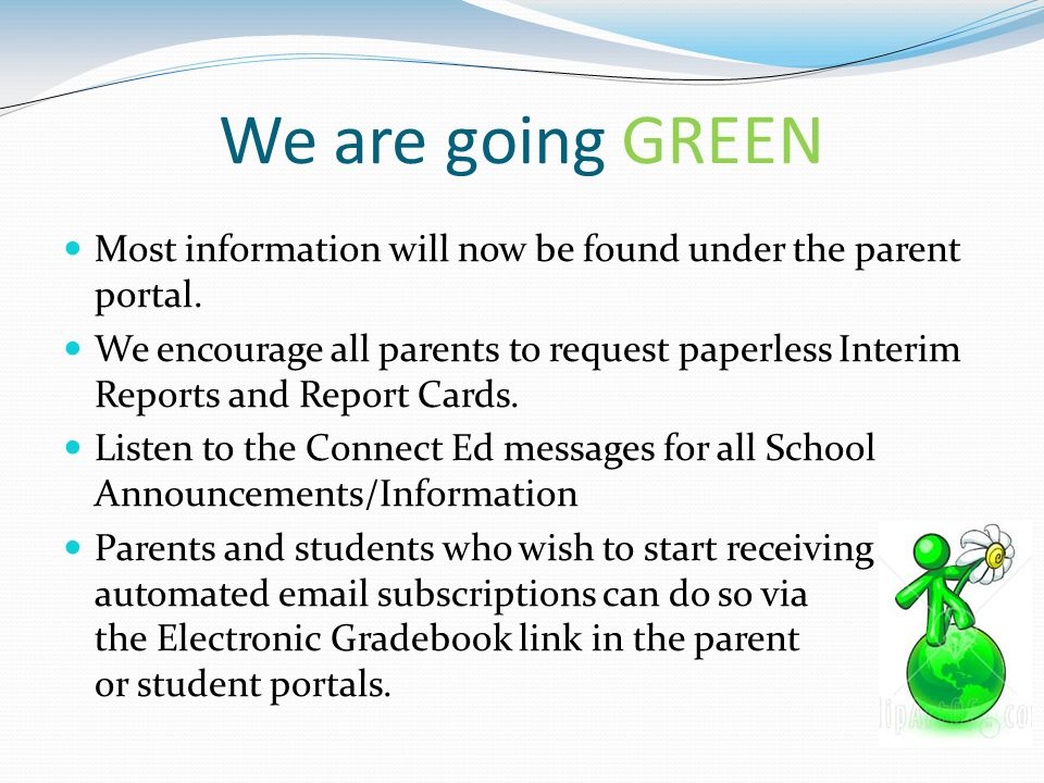 Welcome to fourth grade math and science ppt video for Facts about going green
