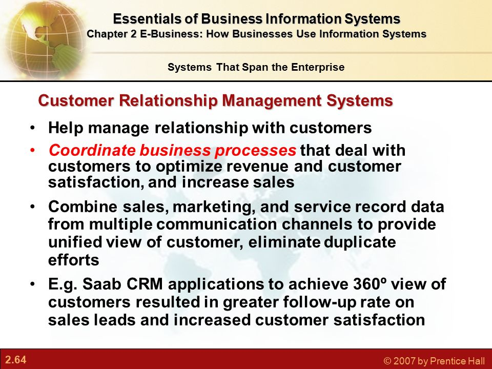 relationship and communications with client management user end users