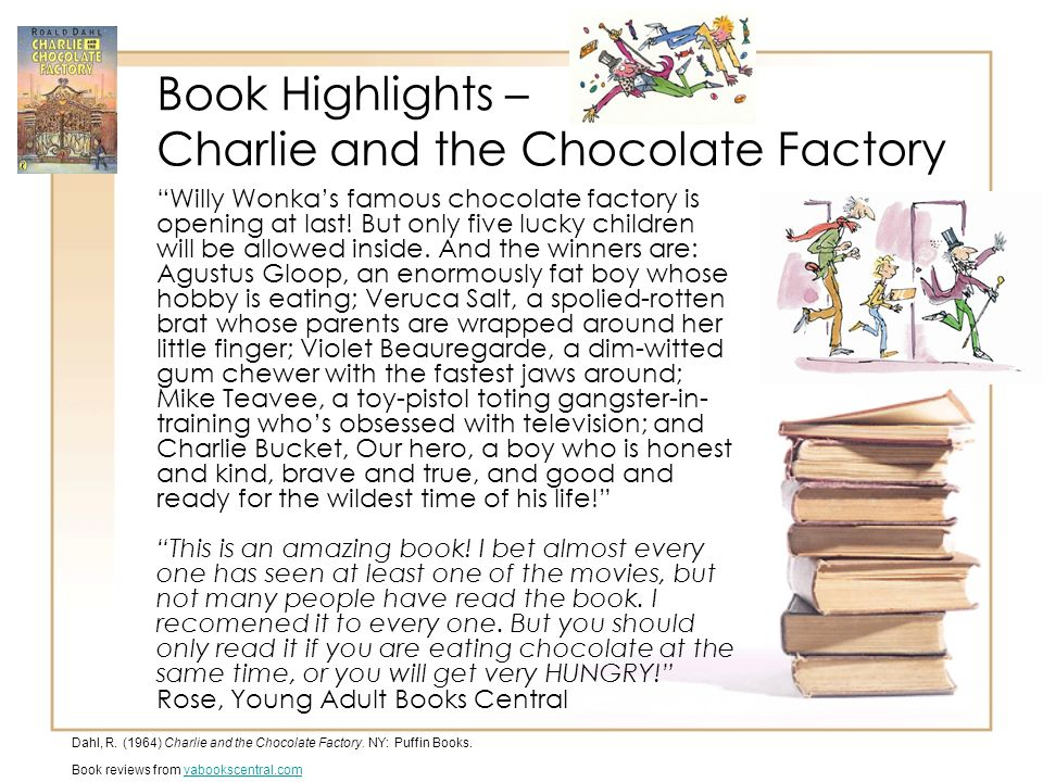 how to write a book review on charlie and the chocolate factory