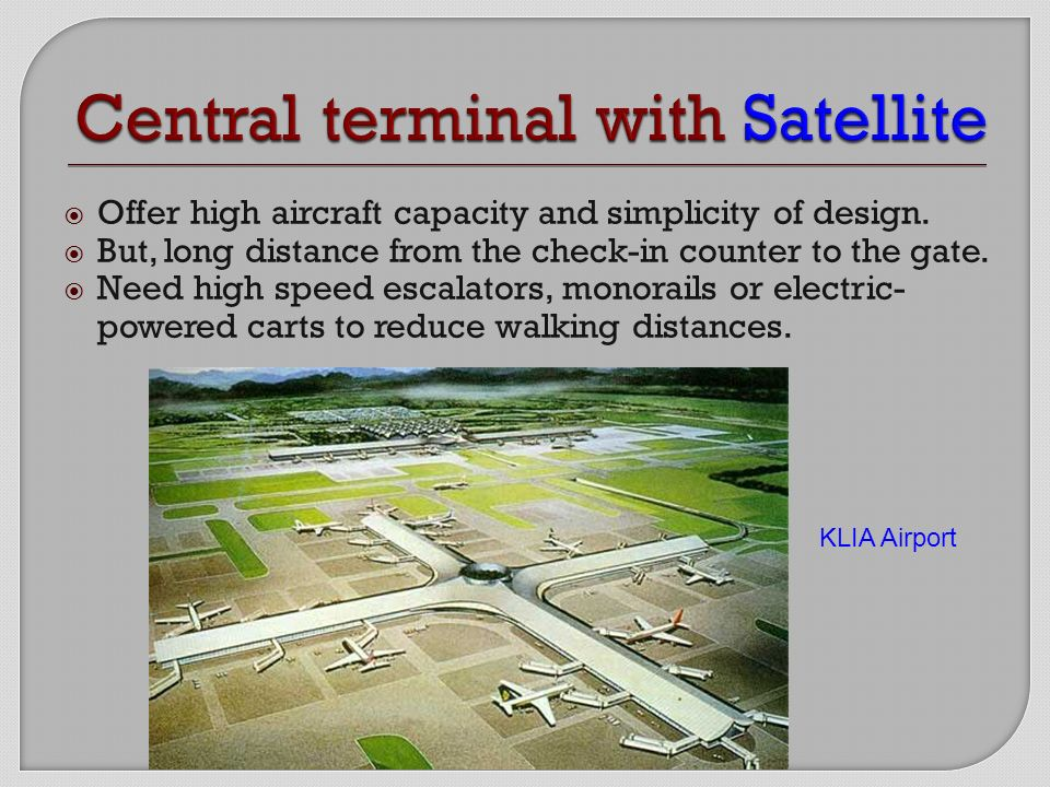 Chapter 2 Terminal Building Ppt Download