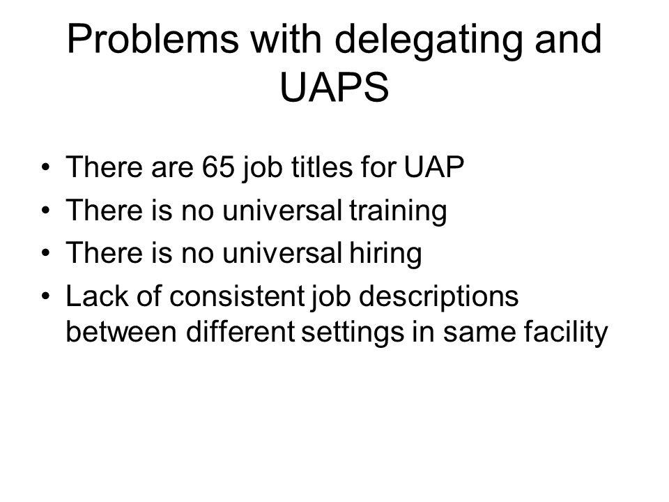 delegation essay