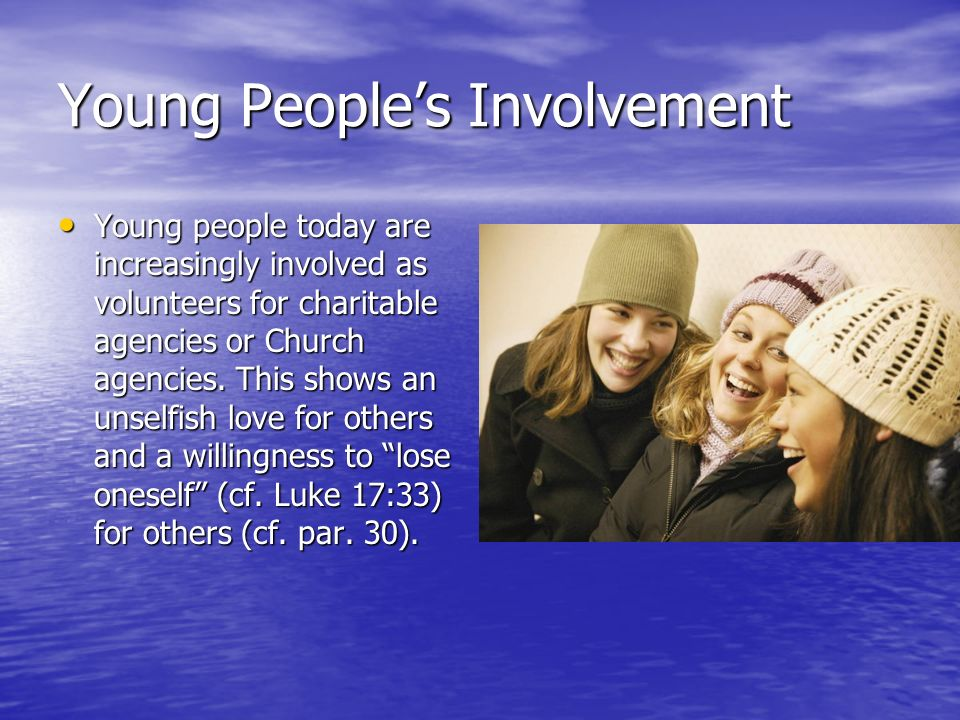 Young People's Involvement