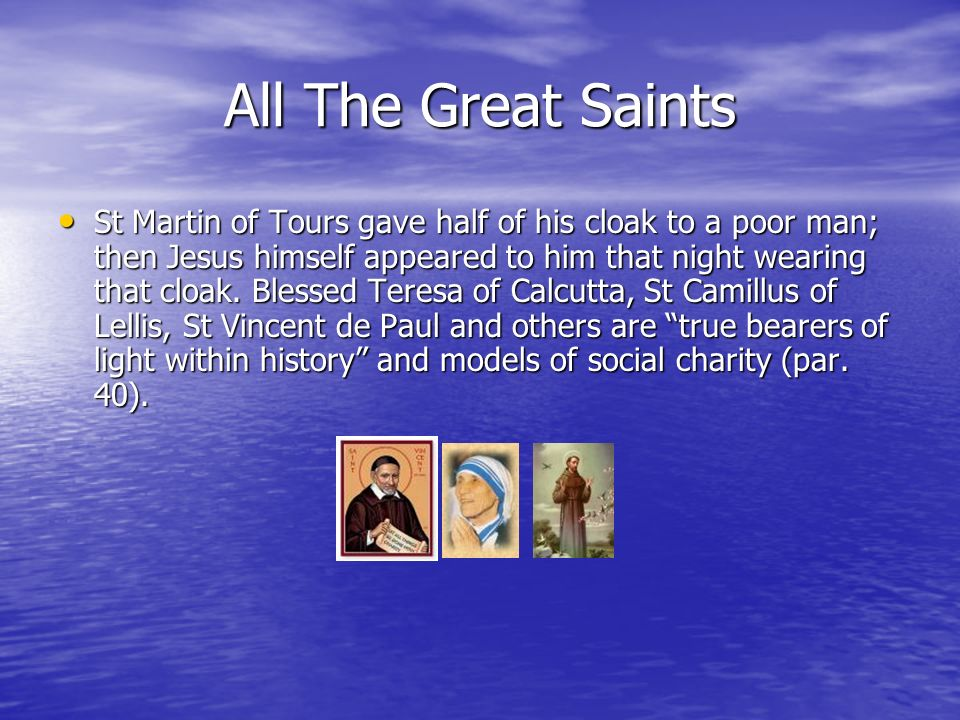 All The Great Saints