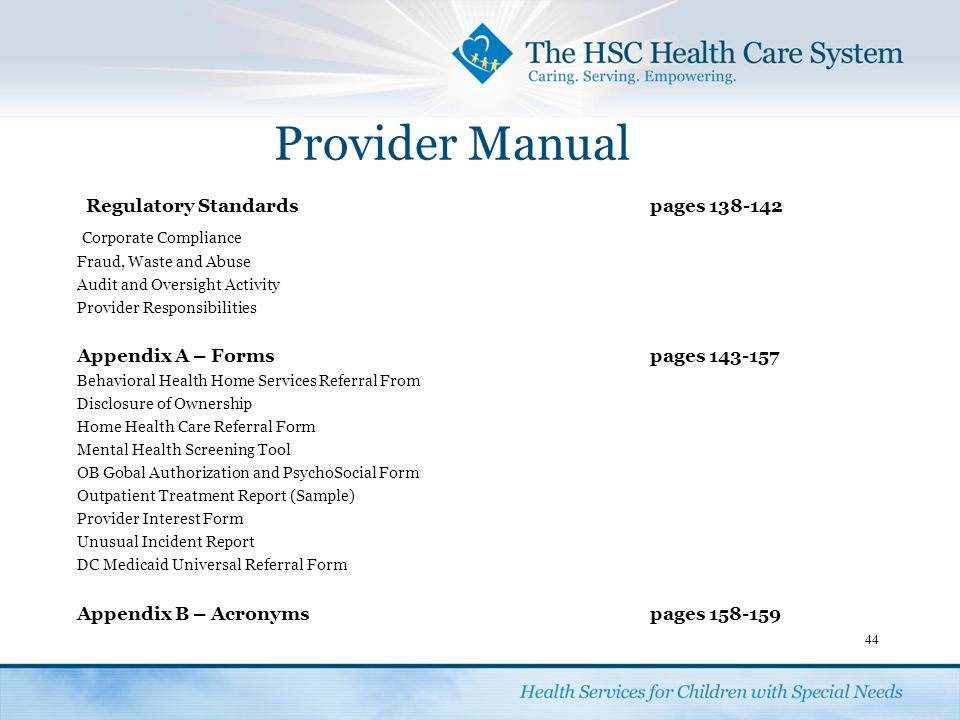 Provider Orientation. - Ppt Download