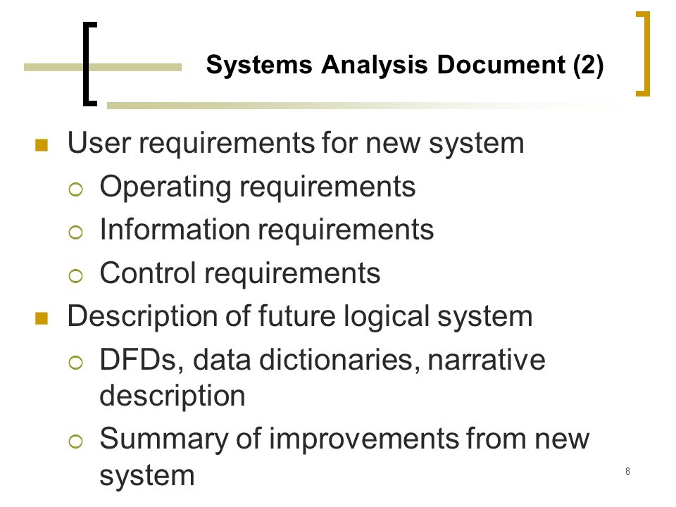 Systems Analysis Document (2)
