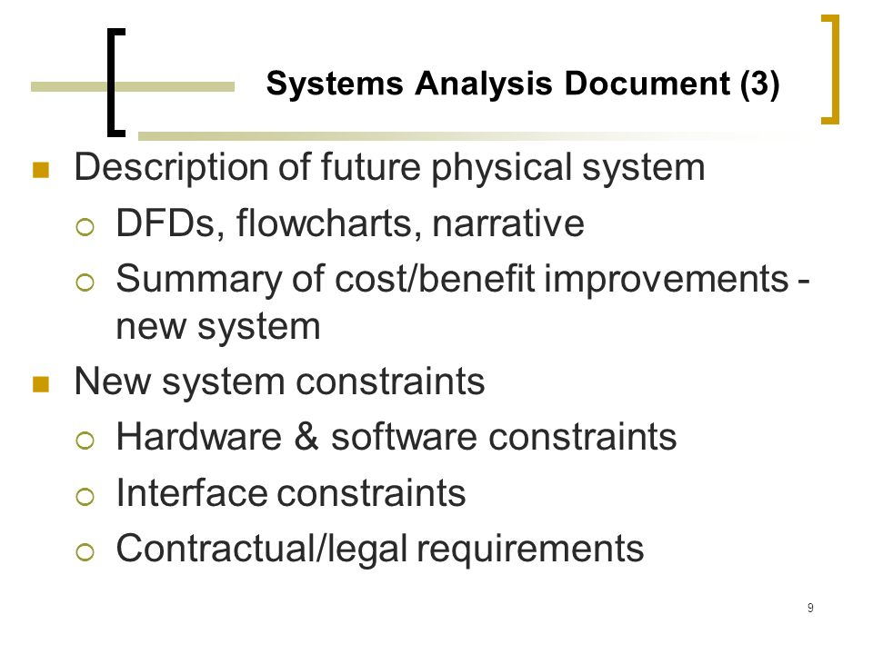 Systems Analysis Document (3)