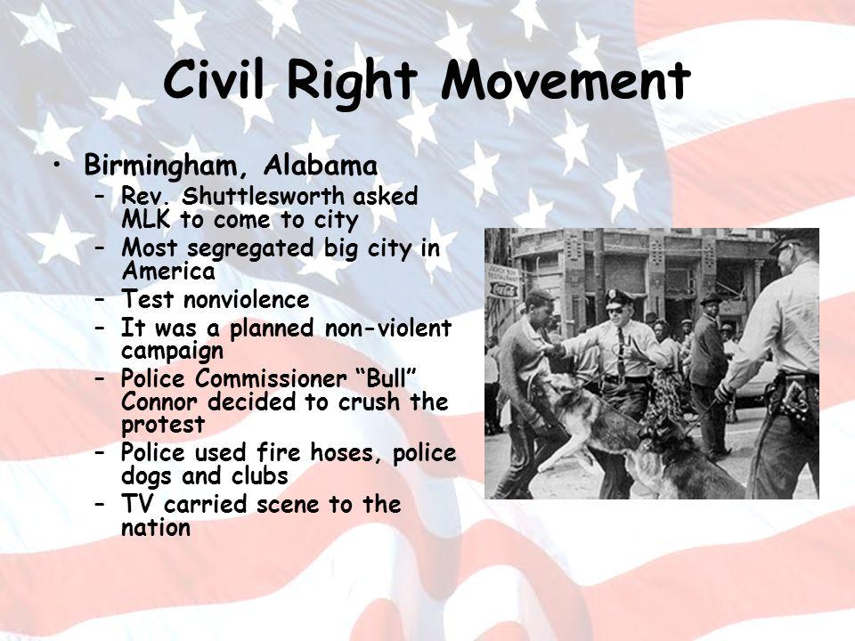 Civil Right Movement Birmingham, Alabama