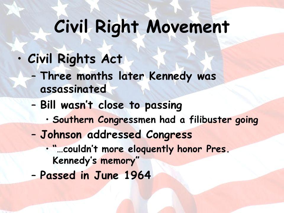 Civil Right Movement Civil Rights Act
