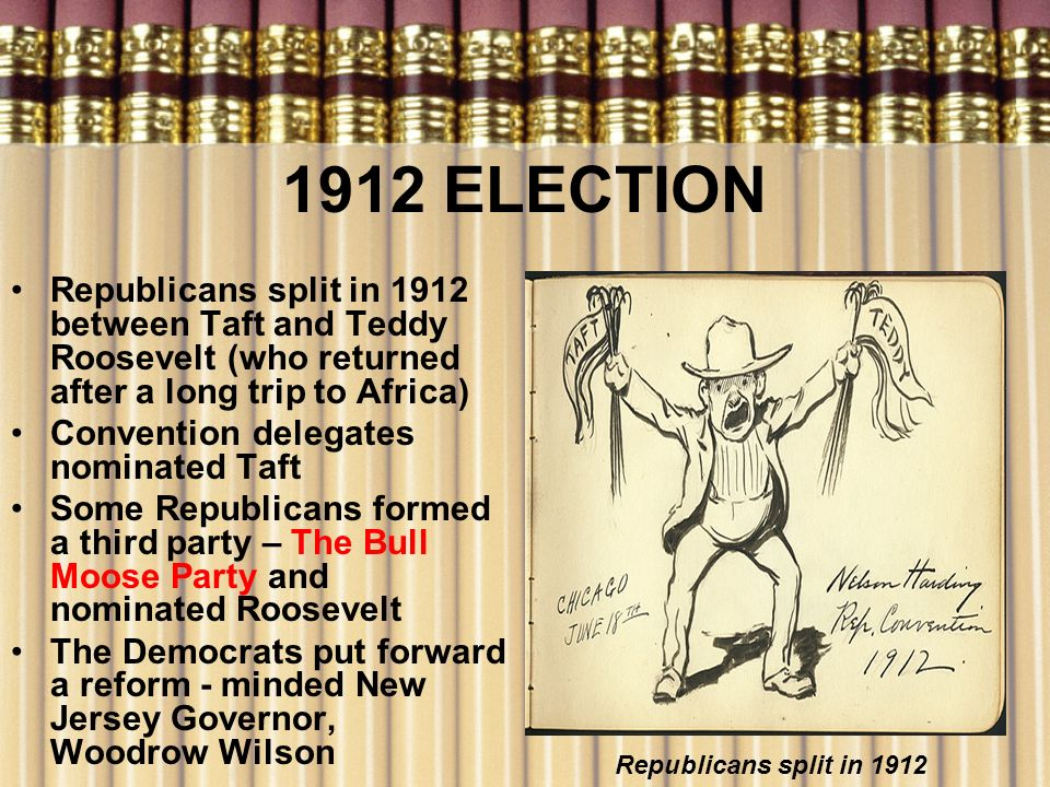 difference between roosevelt taft and wilson What are the similarities and differences between abraham lincoln and  theodore  the election to wilson and destroying the re-election hopes of  president taft.