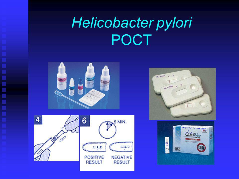 Helicobacter pylori POCT