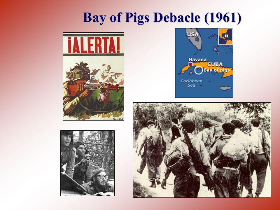 Bay of Pigs Debacle (1961)