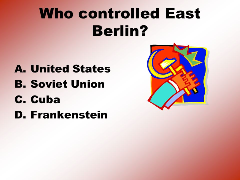 Who controlled East Berlin