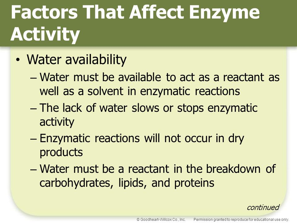 effect of an acidic fluid on enzymatic activity One way to test the effect of ph on enzyme activity is to enzyme activity slows down or stops an acid is what is varied when testing the effect of.
