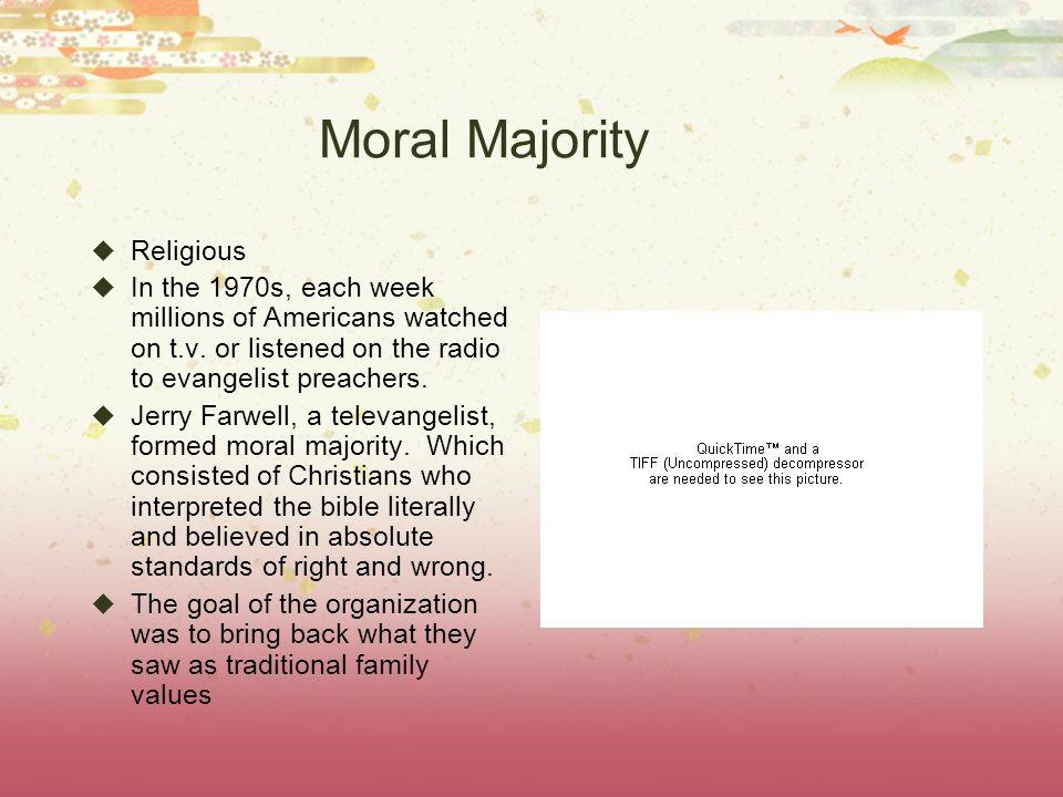 Moral Majority Religious