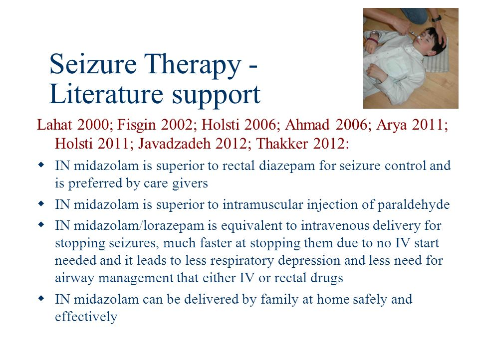 Seizure Therapy - Literature support