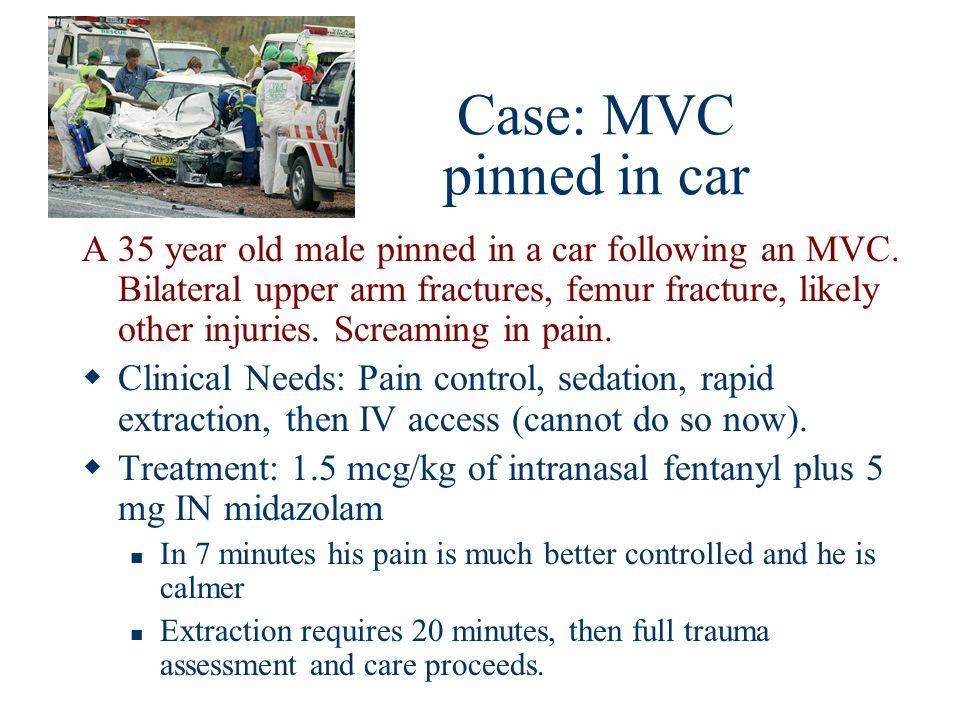 Case: MVC pinned in car