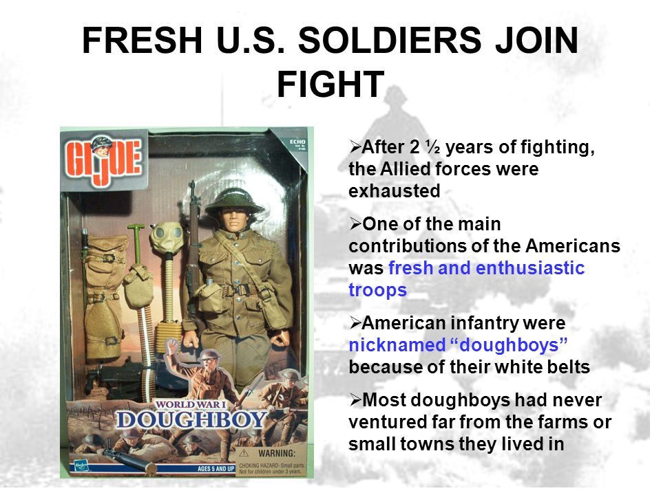 FRESH U.S. SOLDIERS JOIN FIGHT