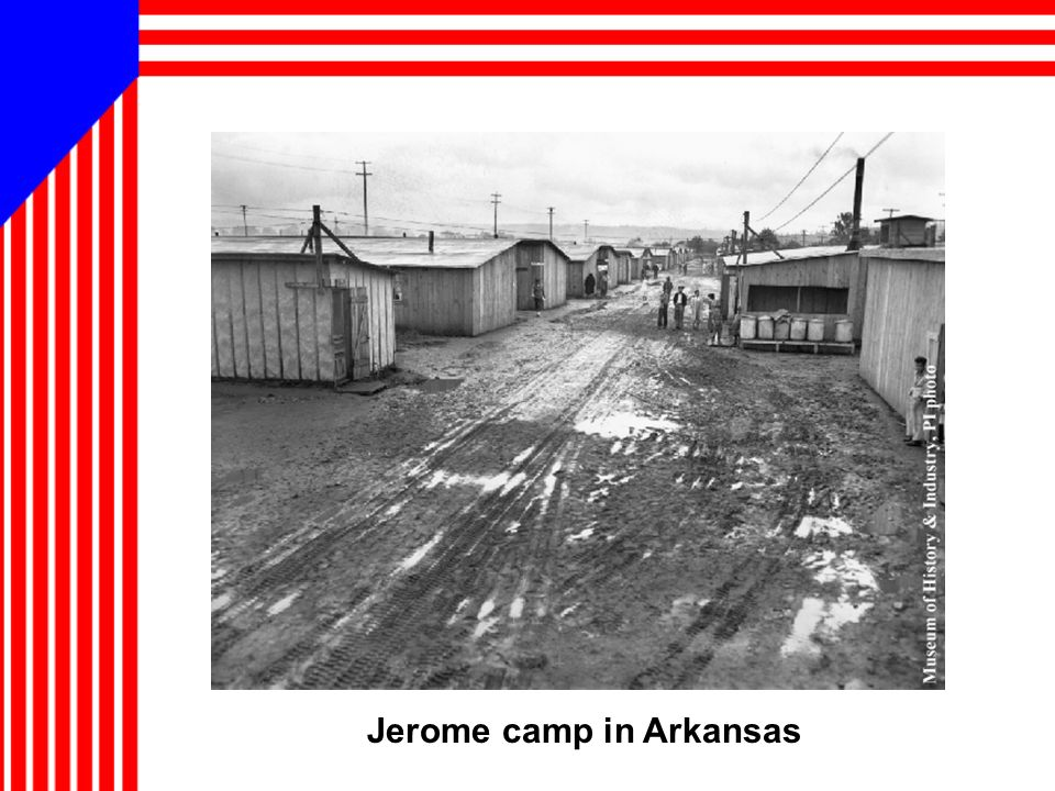 Jerome camp in Arkansas