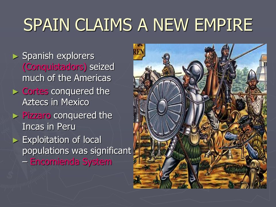SPAIN CLAIMS A NEW EMPIRE
