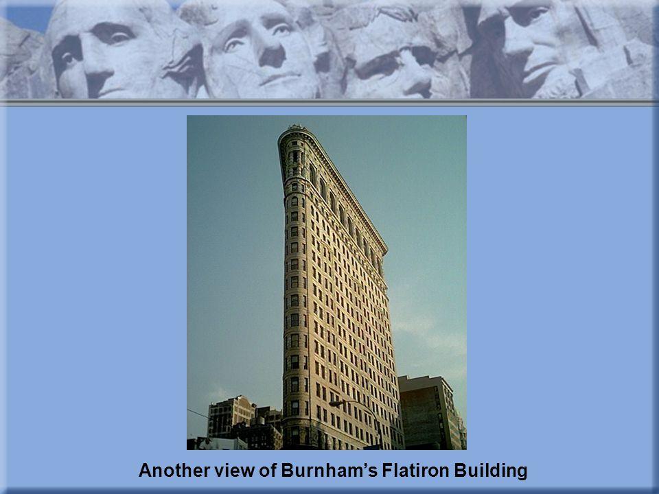 Another view of Burnham's Flatiron Building