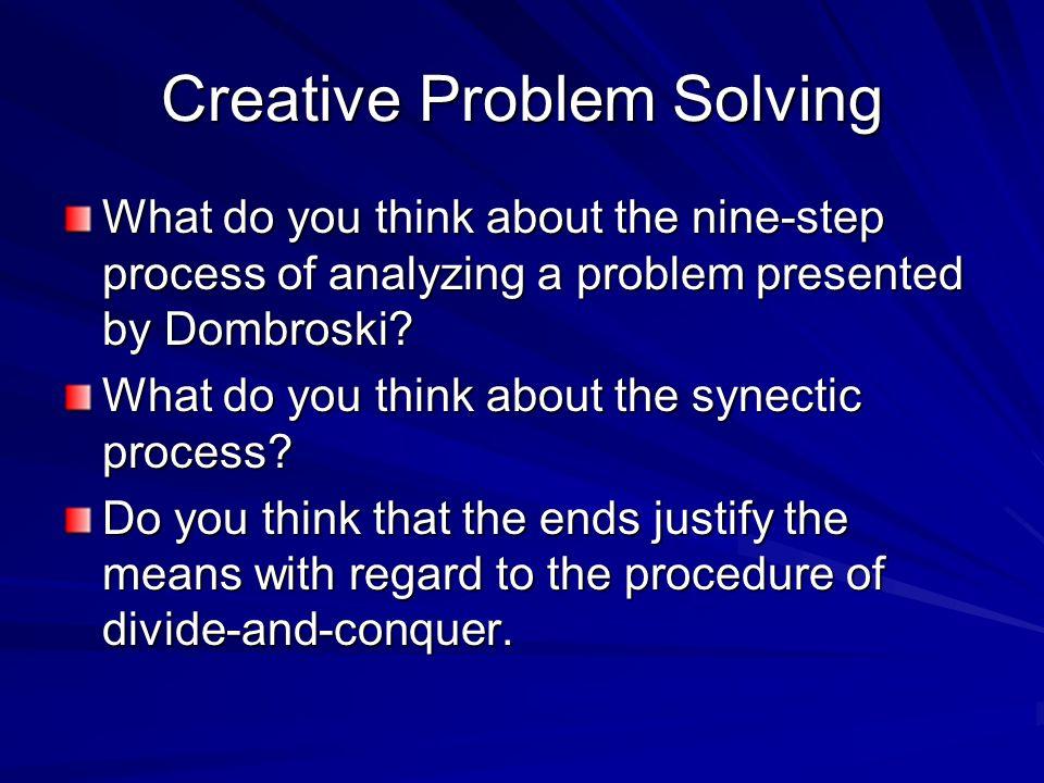 How To Do Problem Solving