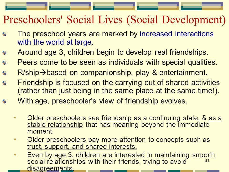 preschool social development socio emotional development ppt 666